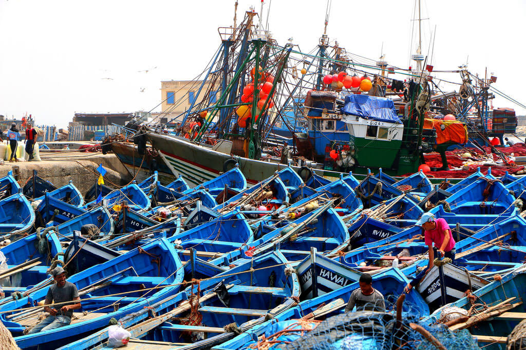 The port of Essaouira